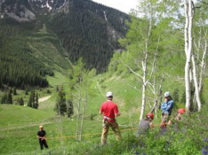 Back to training with Crested Butte Search and Rescue