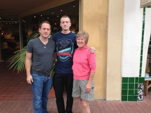 Craig and Dakota - how did I get to be so short?