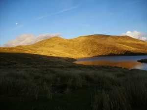 Sunset on the tops