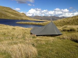 A beautiful place to spend the night!  (...till the weather changed!)