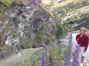 Skippers Canyon (That's the  Shotover River)