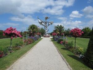 World Peace Statue - Grandcamp-Maisy -