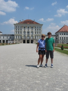 At Nymphenburg Palace in Munich