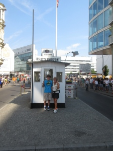 Check Point Charlie in Berlin