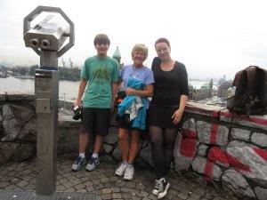 With Henriette in Hamburg