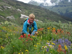 In North Pole Basin (just outside Crested Butte)- wildflowers were amazing!