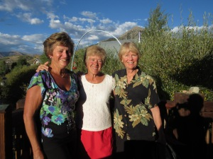 """With Dianne and Joni - we are ready for """"trouble""""!"""