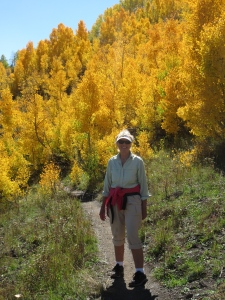 Joni in the Aspens