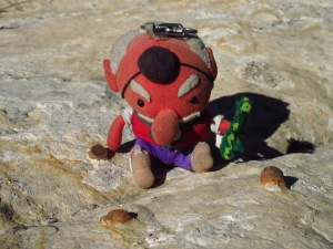 Tengu's last backpacking trip...