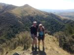 Phil and Joanne on Mt. Nimrod trail