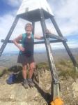 Tengu went to the top of Little Mt. Peel too