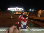 """Tengu in Figi - they wouldn't let us out of the airport since my bag was """"checked through to LAX"""" - a long 5 hour layover!"""