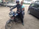 My transport thorough Kathmandu - Yikes!