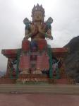 2 story high Buddha in Nubra Valley