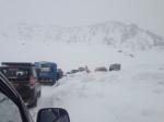 Traffic Jams in the snow!