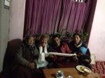 With Sonam's family