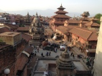 Patan Square after earthquake