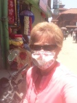 """""""PPE"""" (personal protection equipment) for getting around Kathmandu"""