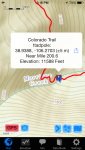 The other part of the Colorado Trail App