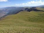 Looking back at Lake San Cristobal
