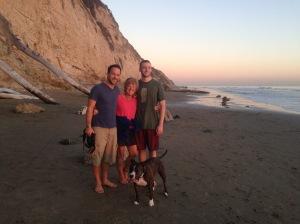 With Craig and Dakota (and Buddha)