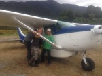 We flew from Martin's Bay to Milford Sound and then took a van back to our cars at the trailhead.