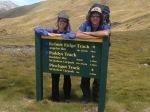 On our way up Robert's Ridge