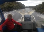 Water taxi ride to Freshwater Landing