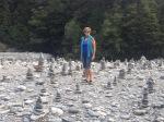 New Zealand's own rock garden.