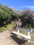 "Start of the Taranaki Hike (or ""non hike)"