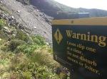 "Crossing ""slip"" on Taranaki"