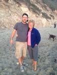 With Craig in Santa Barbara