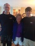 With Steve and Gates in San Diego (my family is SO tall now....)
