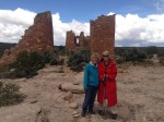 With Joni at Hovenweep