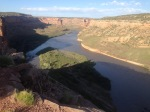 One of my final campsites on the way home - overlooking the Colorado River