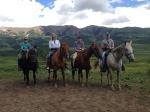 Horseback with Chanda, Gates and Steve