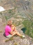 Scarp Ridge overlooking Blue Lake