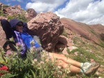 Relaxing at Frigidaire Pass