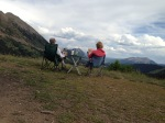 Cocktail hour above the 403 trail