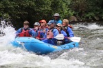 Rafting with Steve, Gates and Chanda