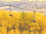Chair lifts in the fall